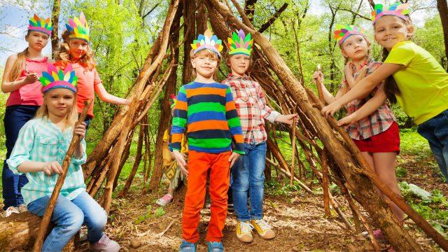 Obóz survivalowy dla dzieci